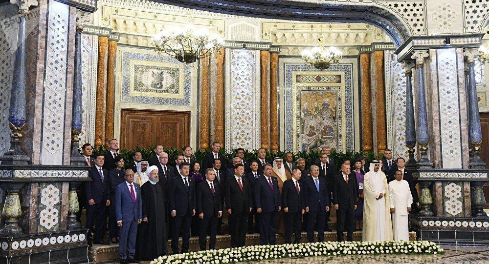 亚信领导人签署总结宣言