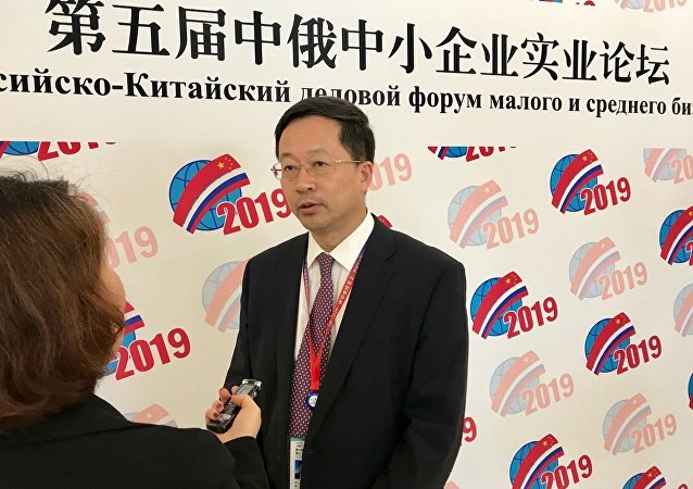 俄罗斯中国总商会会长:中小企业应在新时代中俄经贸合作关系中发挥主力军作用