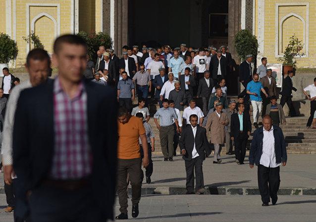 中国外交部:新疆根本不存在美方所称的所谓的人权问题