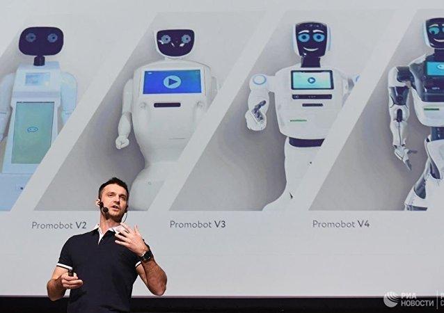 俄罗斯服务机器人2020年在华销售收入有望达到150万美元
