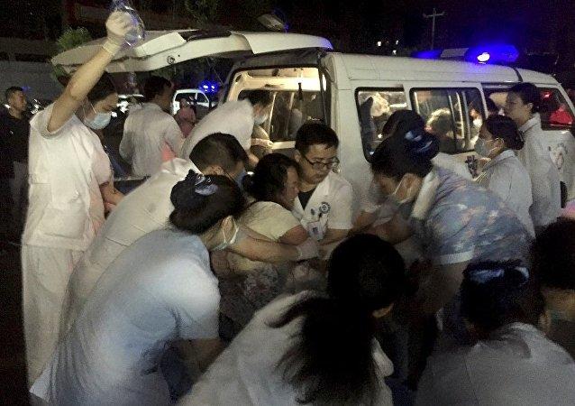 华媒:四川长宁地震134人受伤14人获救