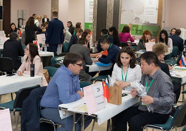 莫斯科中国消费品牌展已拉开序幕