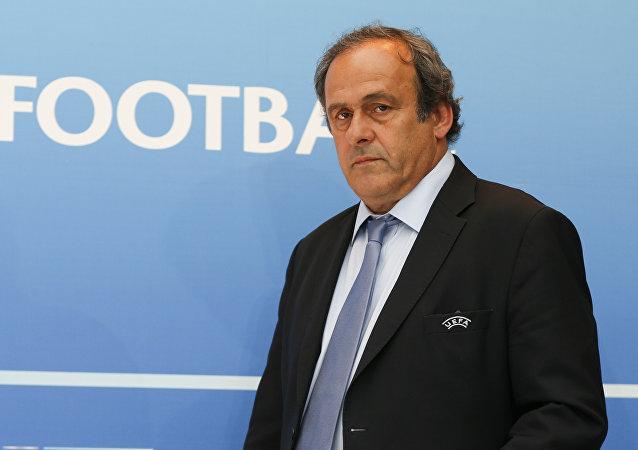欧洲足联前主席米歇尔·普拉蒂尼