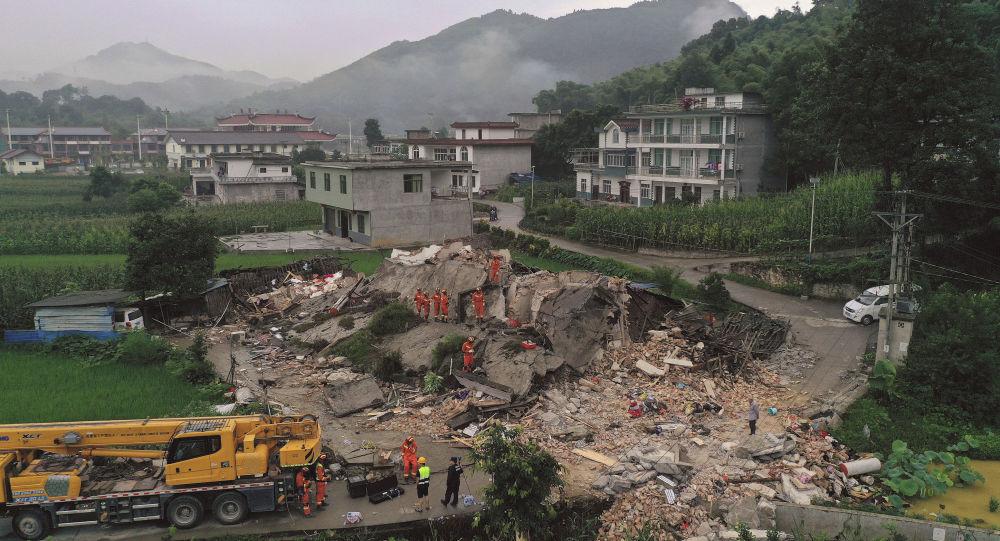 四川省地震 资料图