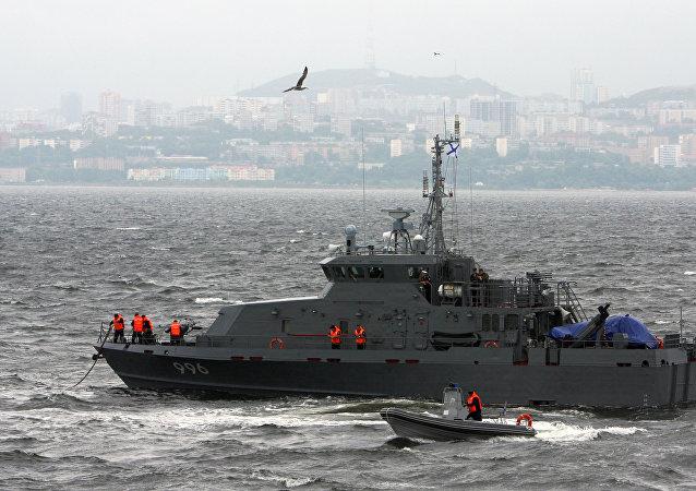 俄克里米亚大桥安保工作将由四艘反破坏艇负责