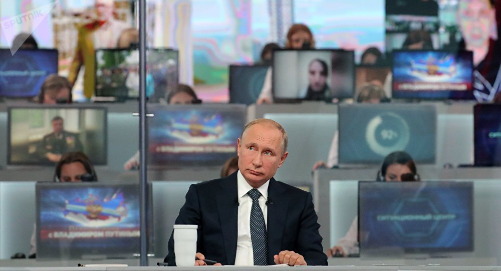 普京强调叙境内的俄私营保安公司与国家无关