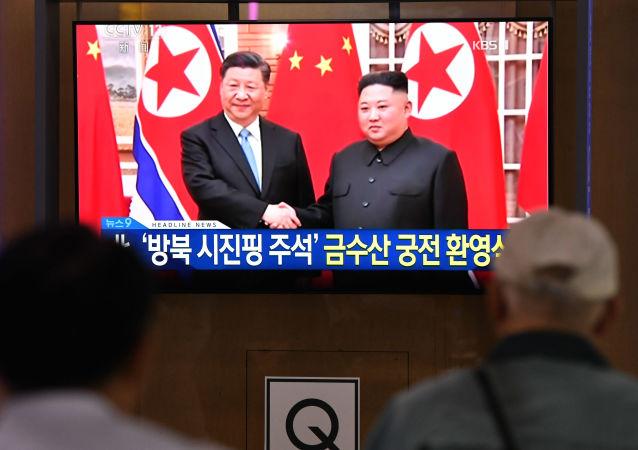 习近平:中国准备在安全问题上帮助朝鲜