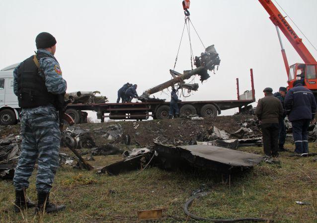 普京:没有证据表明俄罗斯参与制造马航MH17空难
