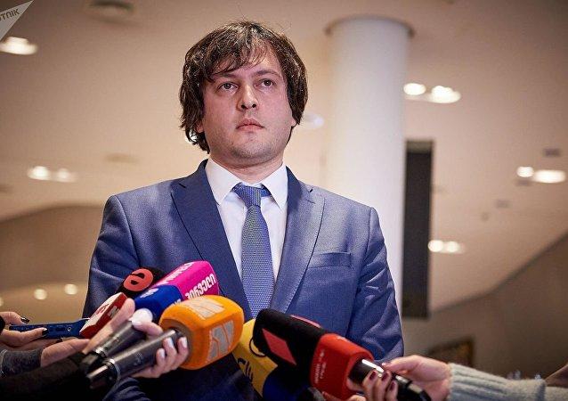 格鲁吉亚执政党称议长辞职