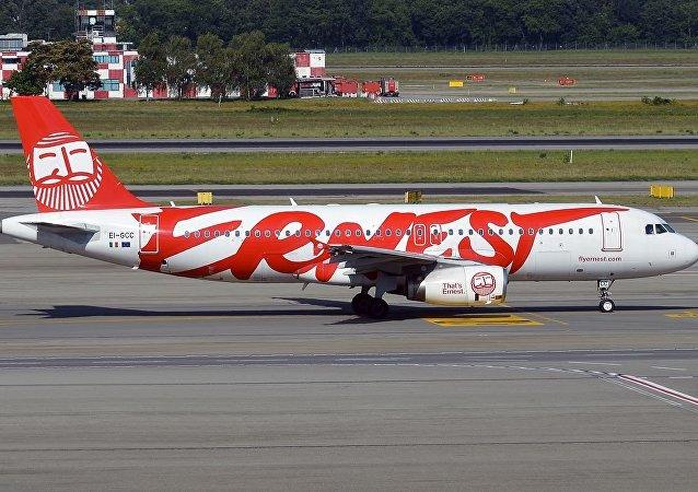 意大利Ernest航空公司一架A320客机