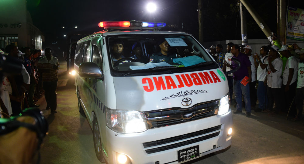 孟加拉国一工厂火灾造成10人死亡30多人受伤