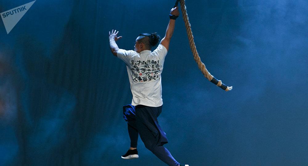 中华龙韵功夫团的演出成为莫斯科契诃夫国际戏剧节最受欢迎的表演