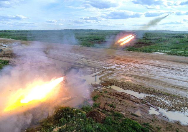 俄军2021年将列装最新式TOS-2喷火系统