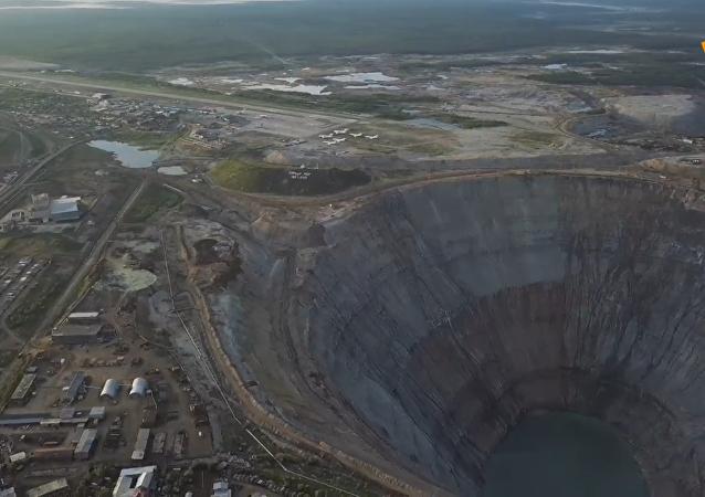 世界上最大的钻石矿