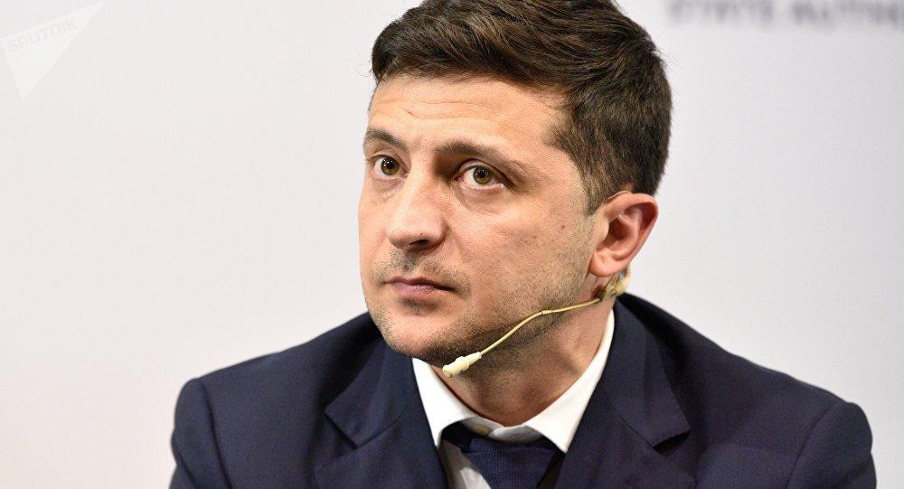 乌克兰总统:愿意把维辛斯基交换先佐夫作为双方表达善意的第一步