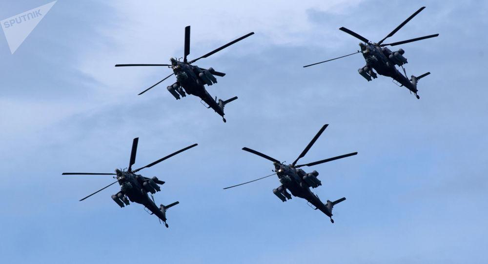 俄国防部已订购76架苏-57战机和98架米–28NM武装直升机