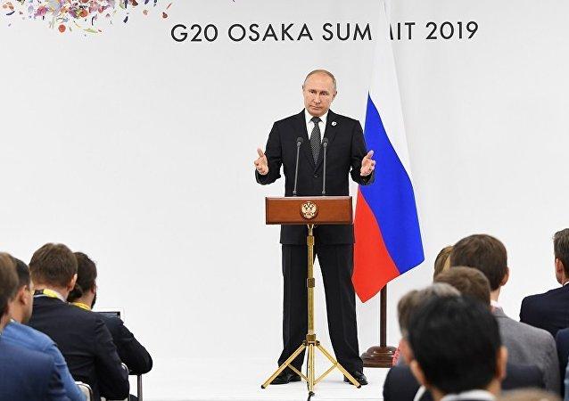 """普京:相关方面将继续利用乌克兰问题""""诺曼底模式"""""""