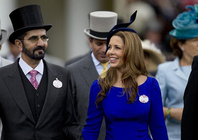 迪拜酋长谢赫·穆罕默德·本·拉希德的妻子哈雅公主