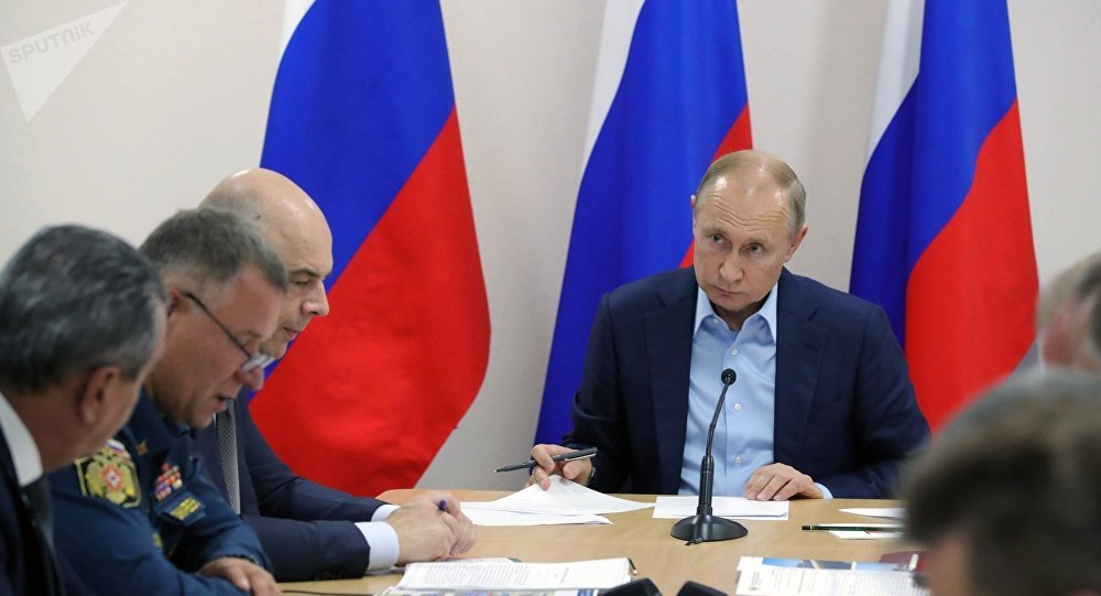 普京责成伊尔库茨克政府和紧急情况部巡察每一处灾民安置点