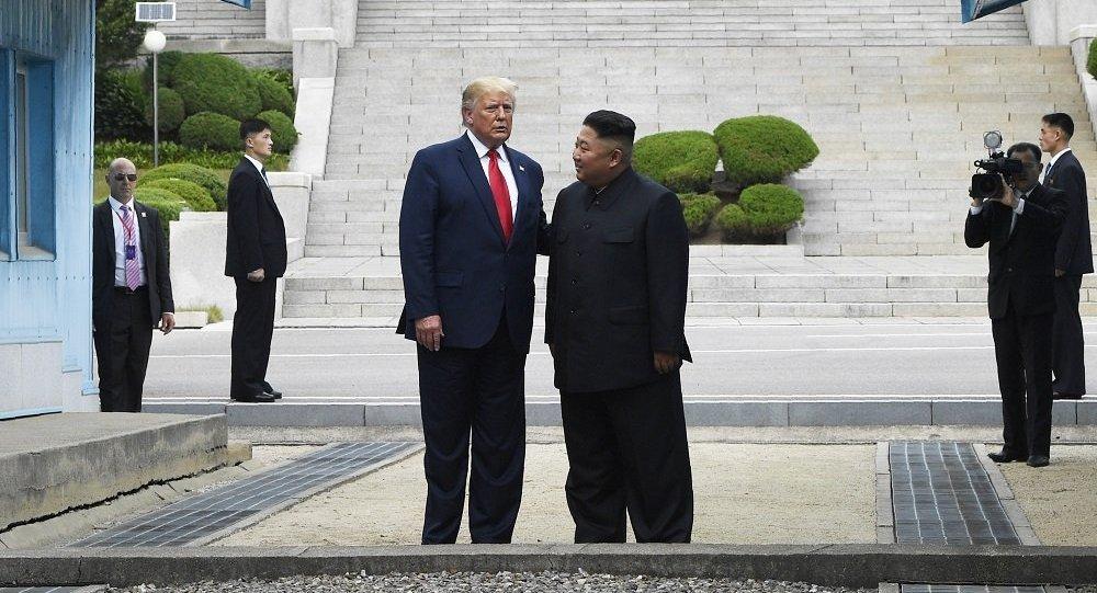 特朗普:与金正恩的新会晤非常具有建设性