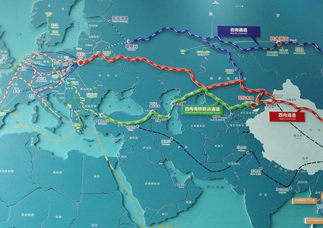 中国成都市在一带一路倡议下积极发展与俄罗斯的铁路运输业务