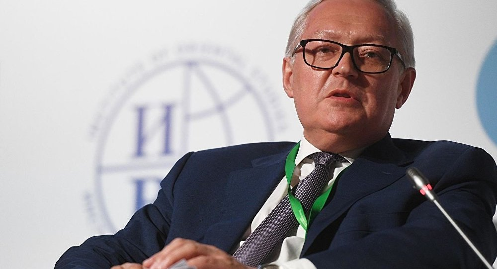 俄罗斯外交部副部长谢尔盖•里亚布科夫