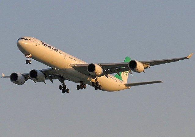 马汉航空的A340客机