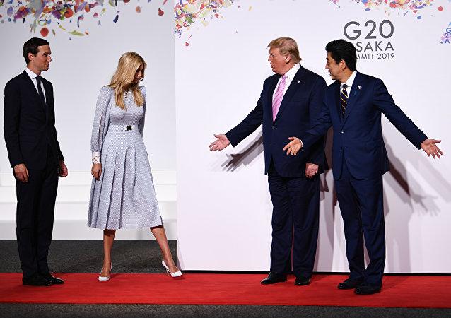伊万卡因在G20峰会上与世界领导人的尴尬沟通让自己变成了一个网红
