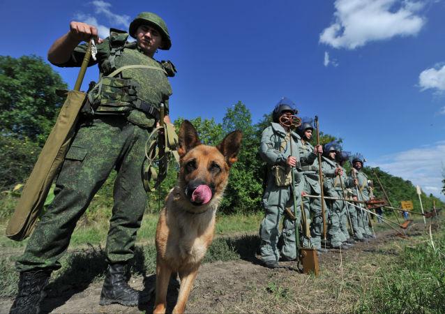 俄罗斯工兵(资料图片)
