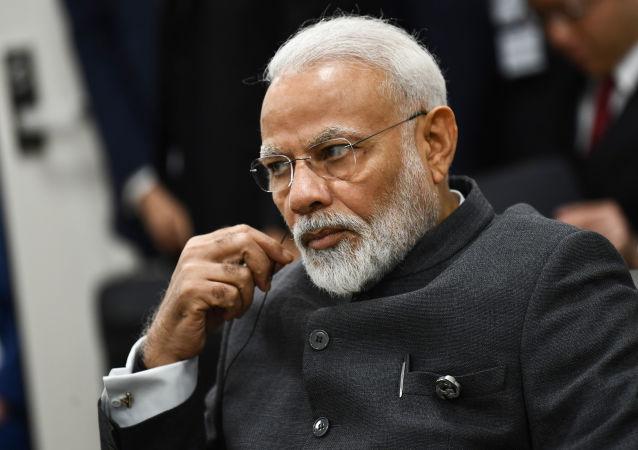 莫迪数月内将首次向印度民众发表讲话