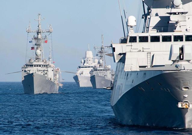 北约海军在黑海进行演习