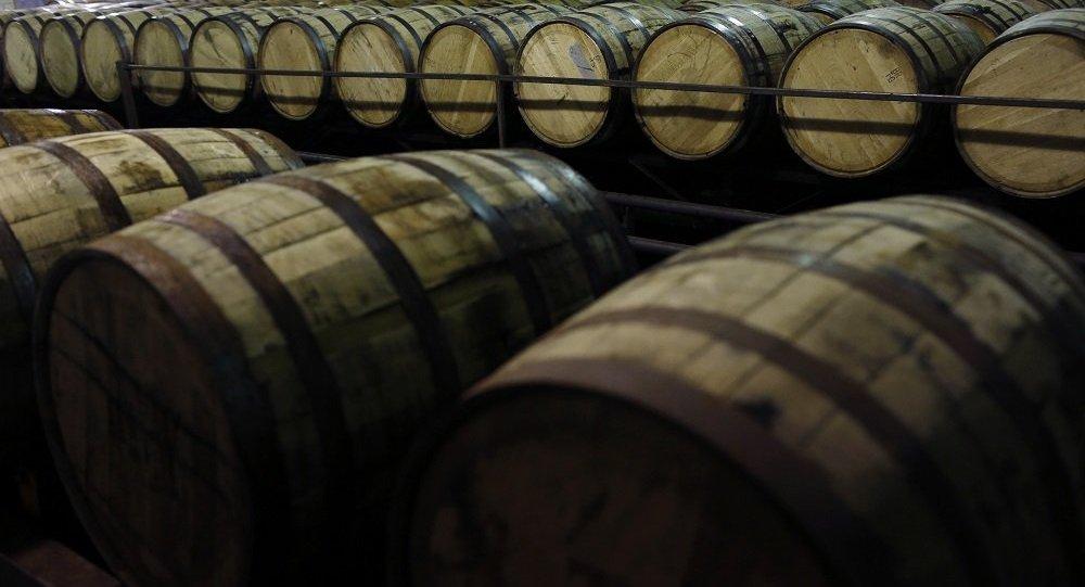 美国肯塔基州金宾威士忌仓库起火 4.5万桶酒付之一炬