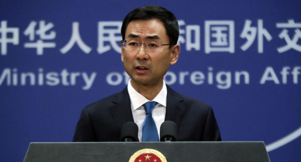 中国外交部:中俄领导人将就两国建交70周年互致贺电
