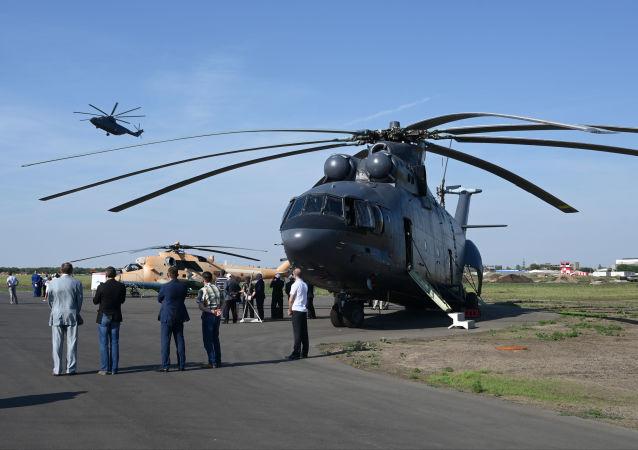 米-26直升机