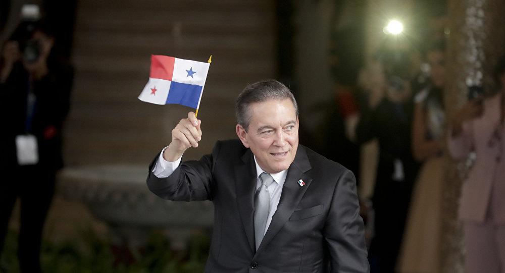巴拿马总统劳伦蒂诺∙科尔蒂索