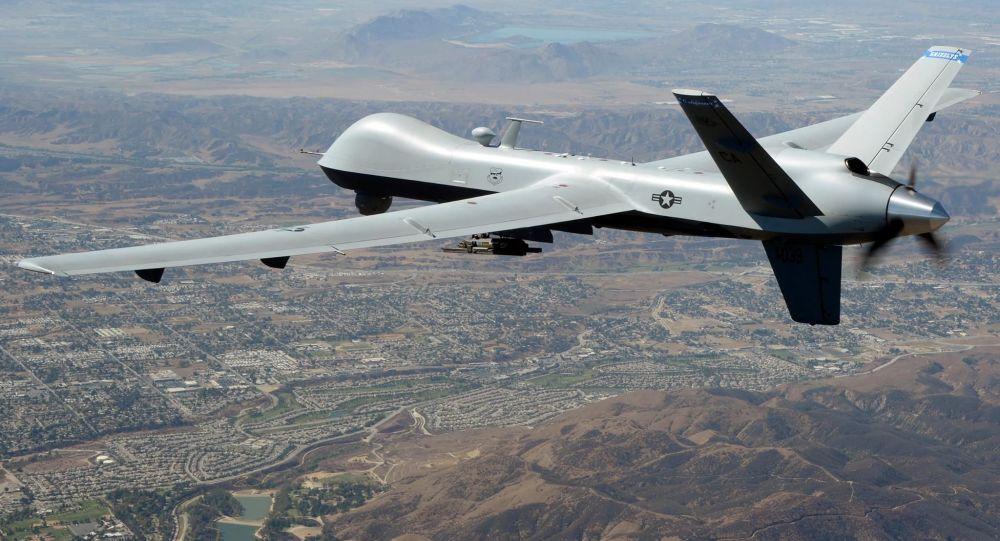 "MQ-9""死神""侦察攻击无人机"