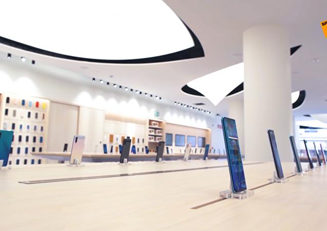 华为在马德里市中心设立首家旗舰店