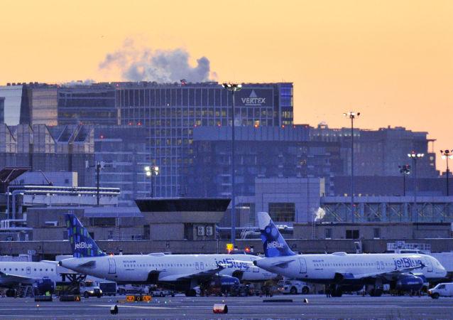 美国波士顿洛根国际机场