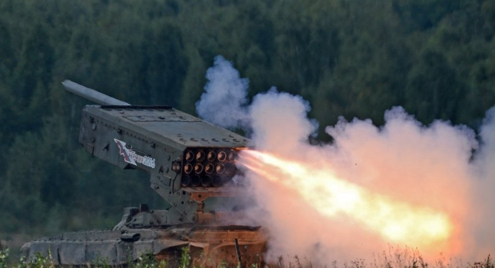 "TOS-1A ""燃烧太阳""重型火焰喷射系统"