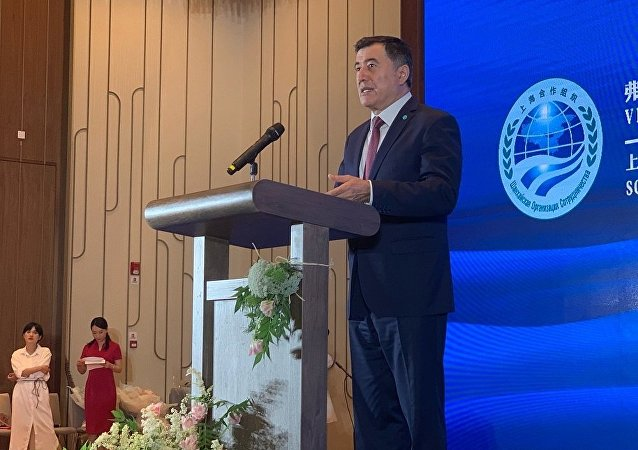 上合组织秘书长弗拉基米尔∙诺罗夫