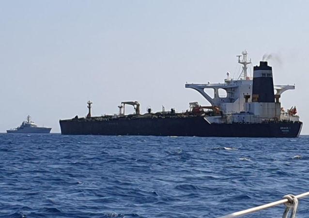 格雷斯1号油轮(资料图片)