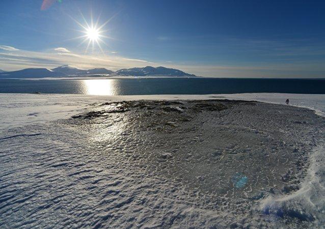 科学家解释北极地区的神秘漩涡