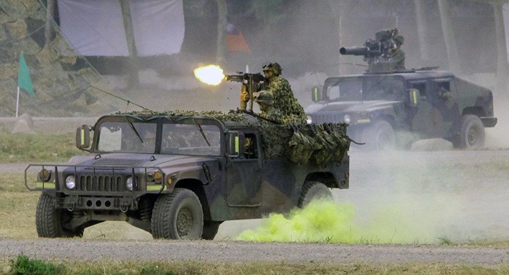 中国国防部敦促美国立即撤销售台武器计划