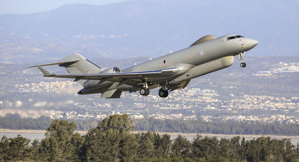"一架""全球快车""(Bombardier Global Express Sentinel R.1)雷达侦察机"