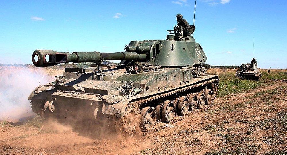 152毫米'金合欢'自行榴弹炮
