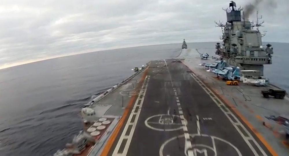 俄新航母研制方预计将与国防部签署预先设计合同