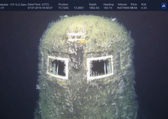 一艘成为美国展品的苏联潜艇将被出售