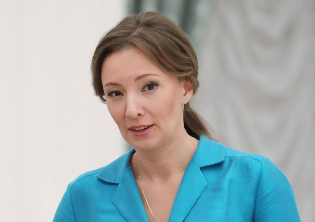俄总统儿童权益全权代表安娜∙库兹涅佐娃