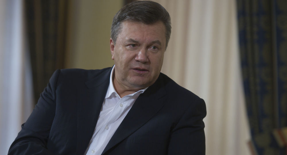 欧洲法院解除对乌克兰前总统亚努科维奇及其亲信的制裁