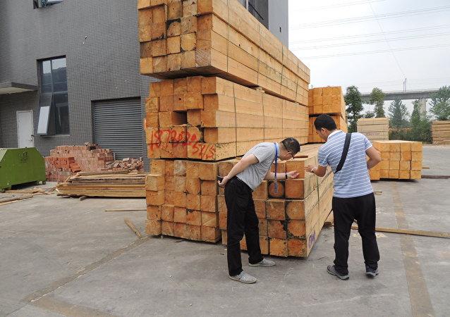俄副总理:约42%的俄木材出口至中国